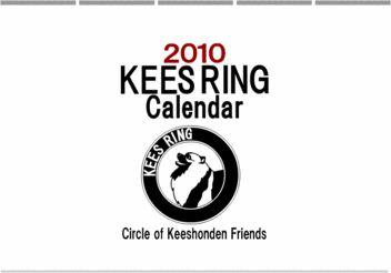 KeesRing Calendar 2010