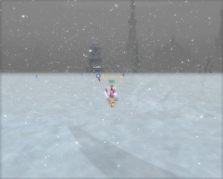 豪雪でmobが見えない。。。