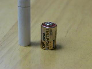 電池アップ