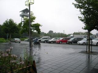 あいにくの雨(T_T)