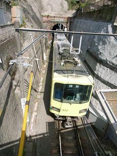 トンネルと江ノ電