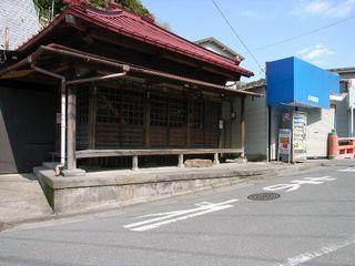 極楽寺駅近く