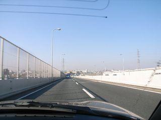 京葉道路から首都高へ