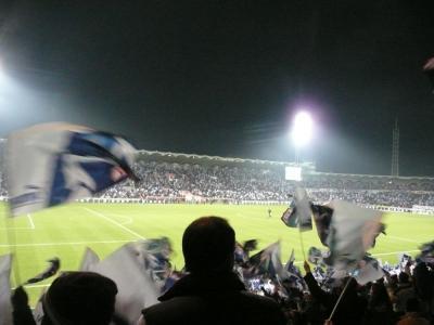 マルセイユ戦試合前