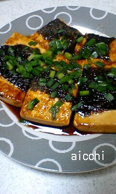 豆腐の蒲焼