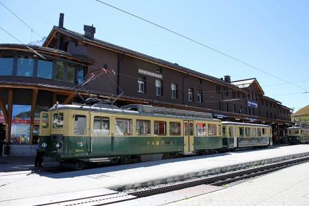 ユングフラウ鉄道01