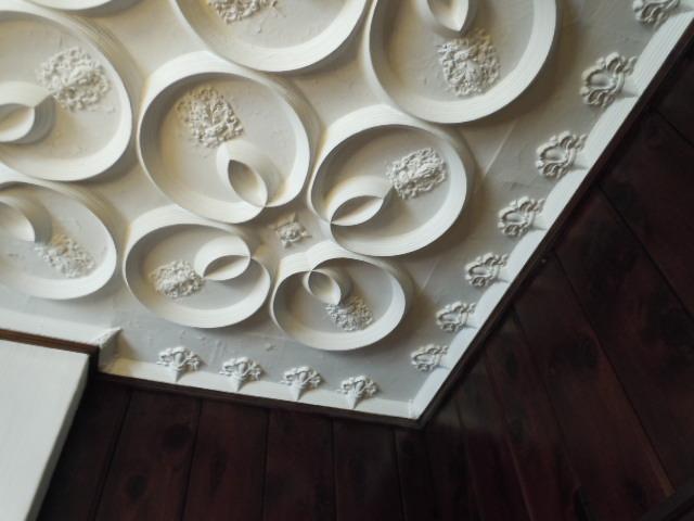 白金甚夢迎賓館 漆喰