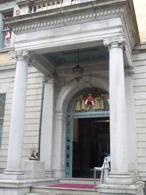 長楽館 玄関