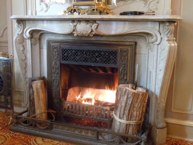 長楽館 暖炉