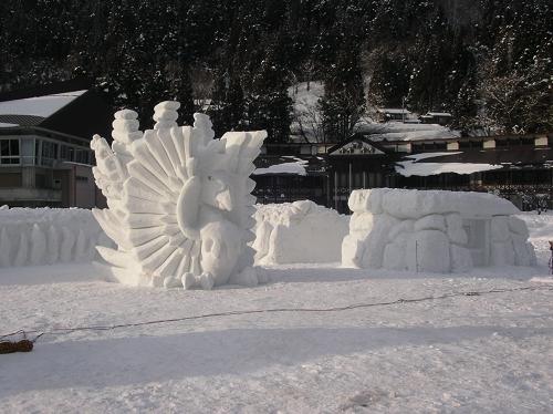 2011年中学閉校記念雪像 (43)