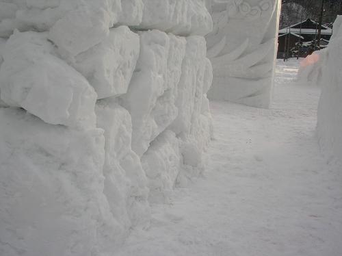 2011年中学閉校記念雪像 (47)