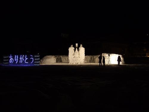 2011年中学閉校記念雪像 (58)