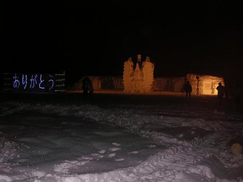 2011年中学閉校記念雪像 (83)