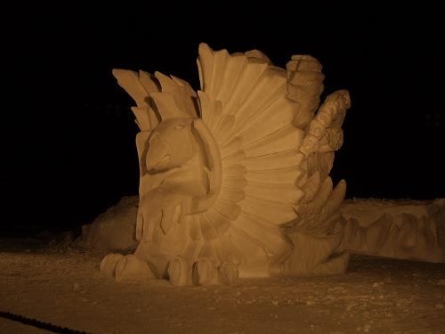 2011年中学閉校記念雪像 (66)