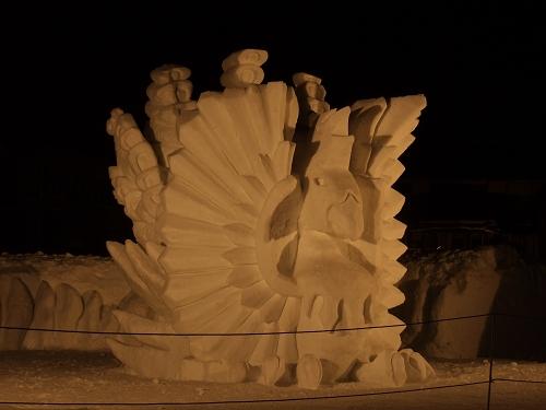 2011年中学閉校記念雪像 (62)