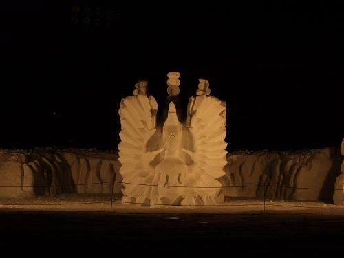 2011年中学閉校記念雪像 (59)