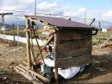 農具小屋造り