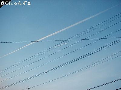 ジェット雲3