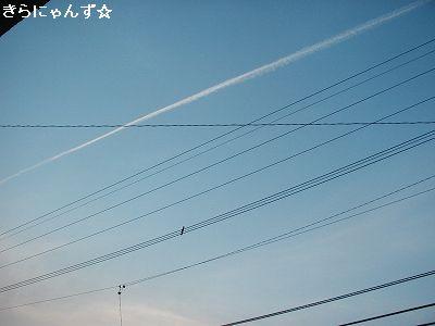 ジェット雲4
