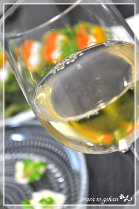 白ワインと