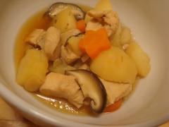鶏と野菜の煮物