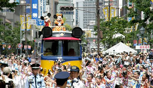 神戸まつり2011・パレード-1