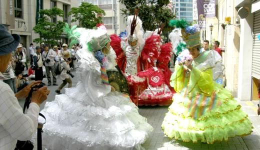 神戸まつり2011・街角風景-3