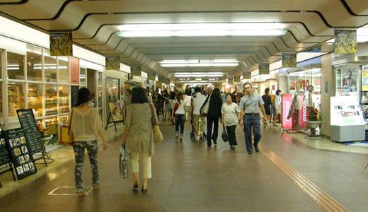 神戸一長い地下通路を通った(4)-1