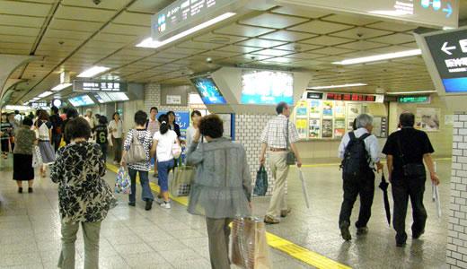 神戸一長い地下通路を通った(4)-2
