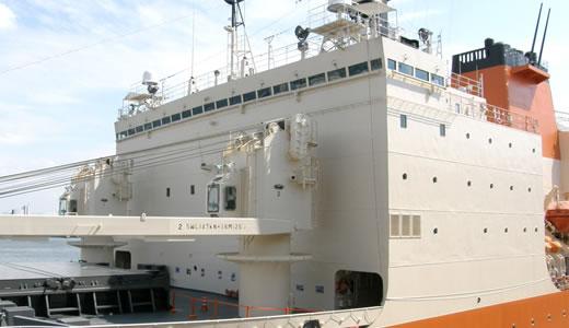 南極観測船「しらせ」が神戸にやって来た(2)-1