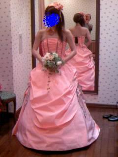 貴婦人ドレス