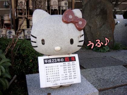 デート 2 キティちゃん