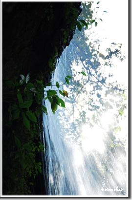水のカーテン☆