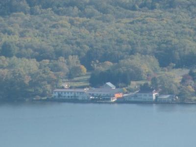 藻琴山から見た屈斜路湖