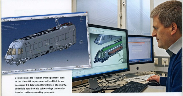 CAD Design Model Train