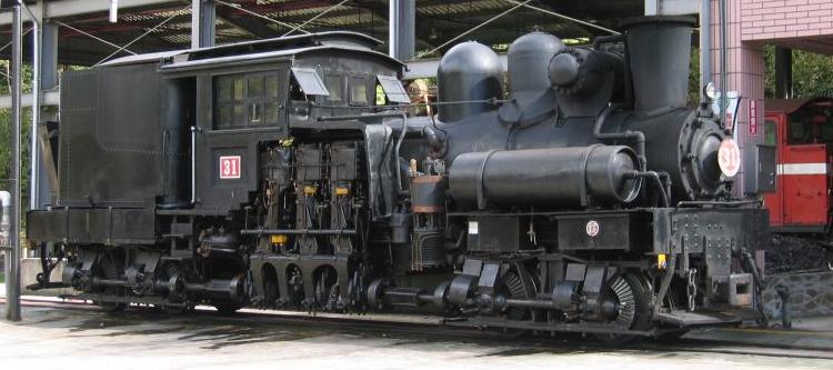 シェイ型機関車