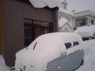 車が・・・