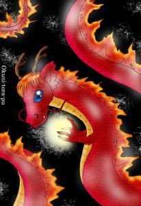渋いドラゴン