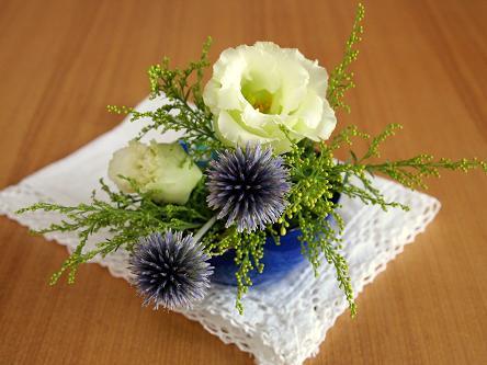 TENERAに花を飾る.