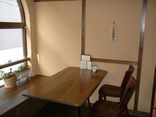 アユラカフェ テーブル席
