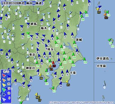 関東 2009100809