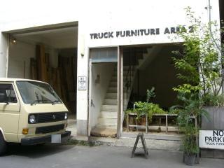 AREA2の入り口前