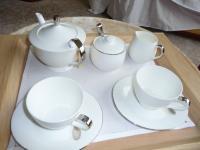 バトラーサービスで24時間お茶を持ってきてくれます