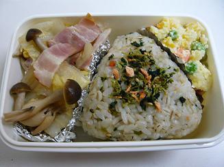 白菜とベーコンの炊飯煮