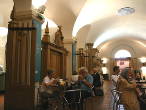 The crypt cafe