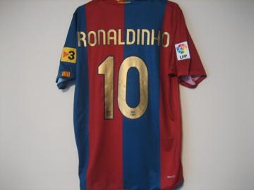 バルセロナ 06-07(H)s/s #10 ロナウジーニョ
