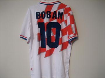 クロアチア 98 #10ボバン #1