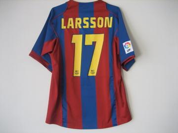 バルセロナ 04-05#17ラーション #1