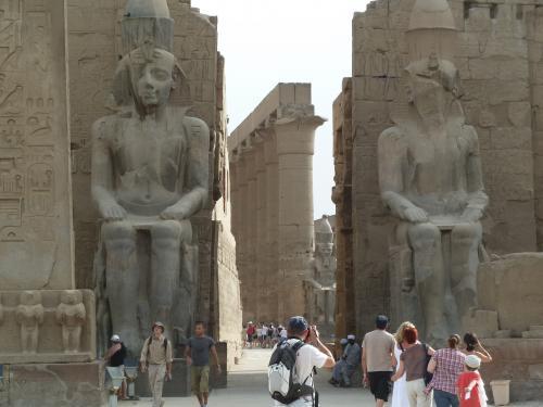 ルクソール神殿2 +P1040266_convert_20110520115535