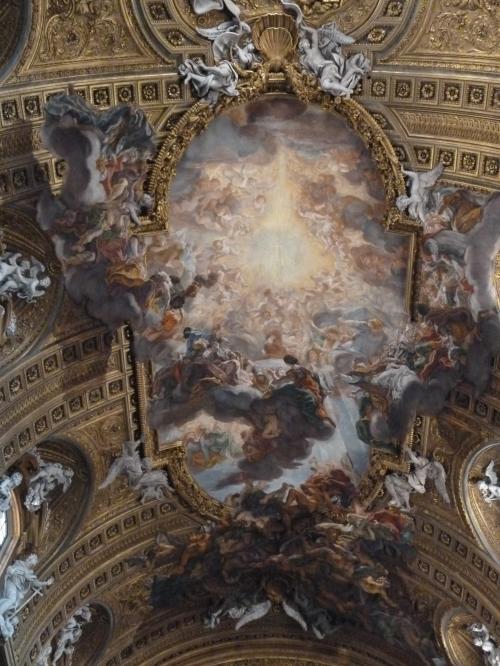 ジェズ教会の天井画